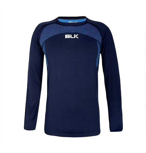 BLK Motion Knit Tee L/S - Navy