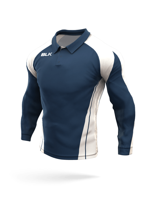 Lawn Bowls Long Sleeve Polo