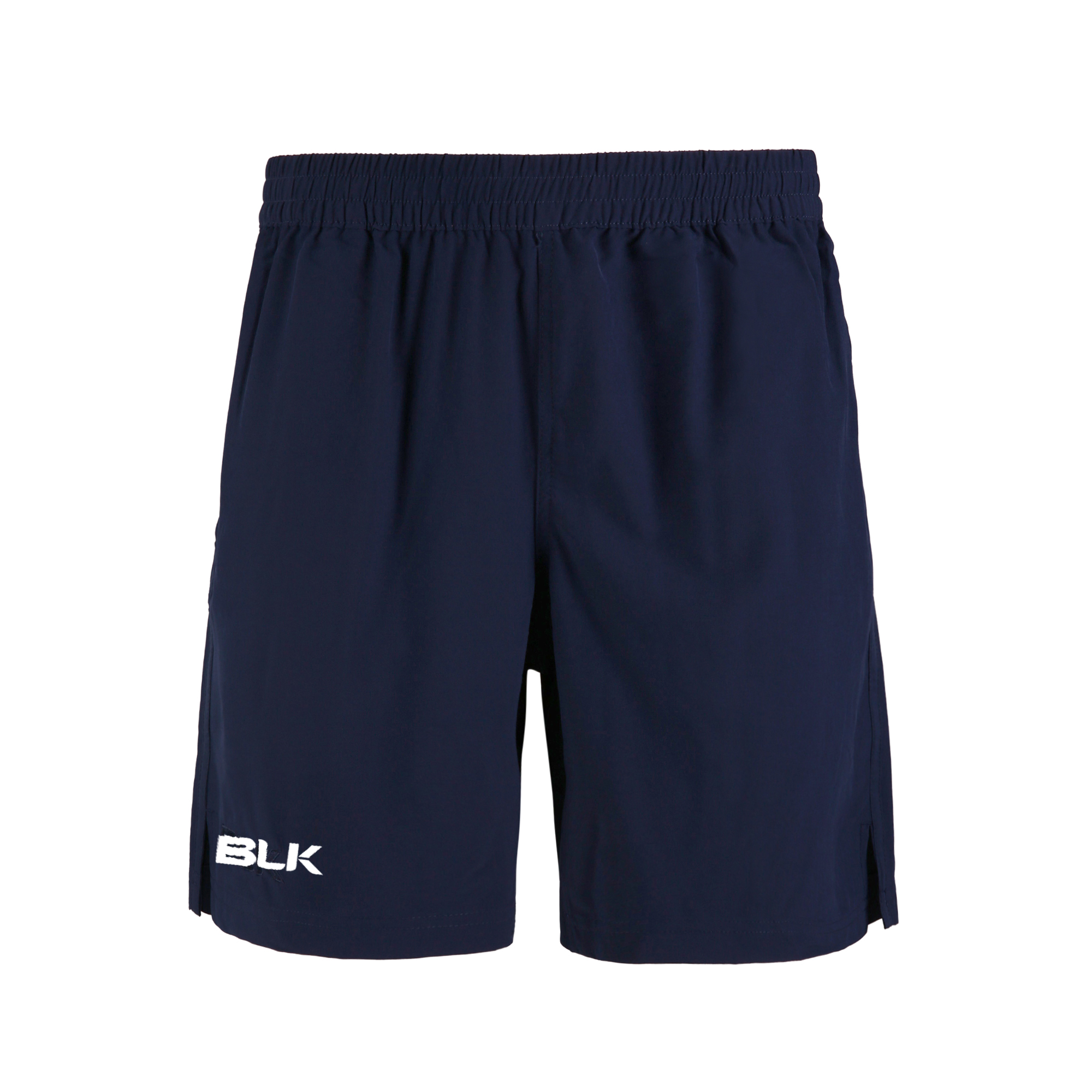 BLK TEK V GYM SHORT - NAVY